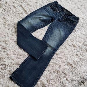 American Eagle Kick Boot Jeans Size 2 Short
